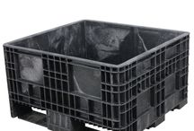 Fixed Wall Bulk Containers / Fixed Wall bulk containers were developed to meet the specific needs of our customers for shorter, sturdier containers with non-collapsible sidewalls and one-piece molded base construction. Ideal for applications with high weight, low volume requirements, fixed wall bulk containers are available in multiple heights and footprints.