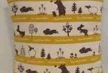 mustaherukka fabric