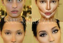 Makijaże kosmetyki fryzury