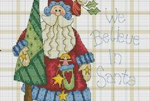 Christmas - Cross Stitch - Tree Skirt