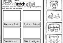 유치부 문장 활동지 / 영어 문장 만들기