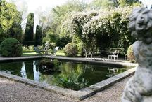 garden ~ water / ponds, pools & fountains in the garden / by Lara Dennehy Horsting