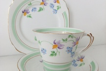 Afternoon Tea / Cup, saucer and plates. Tea pots, trolleys etc.