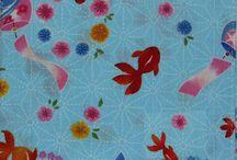 Kimono Daisy Fabrics / Some of the gorgeous fabrics available at www.kimonodaisy.com.au