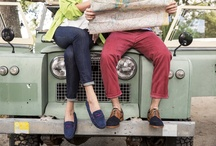 Road Trip / It's six for the road on a breezy, top-down trip along the coast. And their J&M styles have been updated to match their outlooks: brighter, smarter, modern, fun. / by Johnston & Murphy