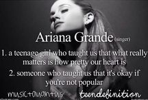 Ariana Grande❤️ / Perfection is written all over this board!