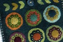 Круги - кружочки и листики