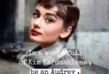 •Audrey Hepburn