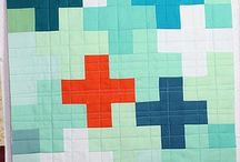 sewing and patchwork / http://www.sewmamasew.com/2011/12/pretty-in-patchwork-holidays-swiss-cross-wide-stripe-patchwork-stripe-bag-tutorial/