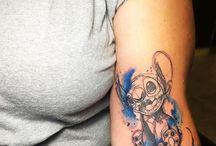 Disney tattoo's