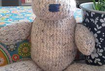 Happy =) - Knitted Toys by Nessa D. / Je vous présente tous mes Happy!