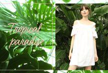 Tendance tropical paradise