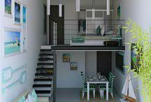 Mínimo Casa, Deco / Ideas minimalistas o con el mínimo gasto.