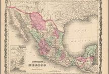 Mexico Antique Maps / Antique maps of Mexico show the fascinating development of the country from Pre columbian times until now. While Spain controled most of the area of present day Mexico until its independence many geographical names have indigenous roots. Antique maps of Yucatan, Baja and Mexico City can be found here. Also vintage maps of Guadalajara, Veracruz and Acapulco.