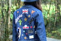 parches and denim