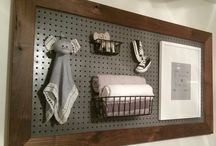 Baby room / Pegboard