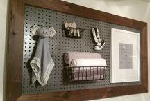 Baby room / Pegboard