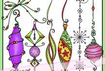 49 Christmas Ornaments