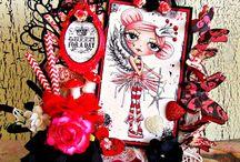 Polkadoodles Cards by Julie Gleeson