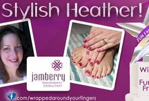 Happy Customers / Pictures of Wrapped Around Your Fingers customers wearing their Jamberry Nails / by Wrapped Around Your Fingers