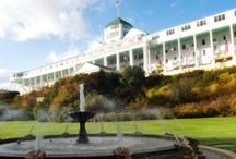 Stay the night with us / There are beautiful places to stay on Mackinac Island from economical to extravagant.
