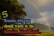 Kauai, Hawaii / My travel pictures from the Hawaiian Island Kauai.