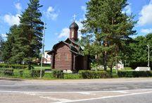 Kirkot, luostarit.