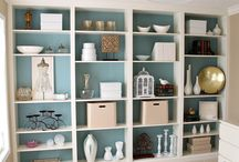 Bookcases & Spaces / Decorating Small Spaces / by FelixVintageMarket Etsy.com