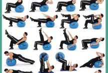 Exercise Posters / Fun Diagrams To Showcase Different Exercise Movements