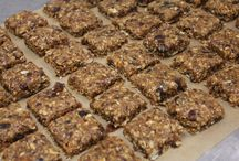 Snacks and fillers (gluten and dairy free).