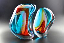 Art glass / Fine Art glass objects give me a lot of positive energy.  I want to share them with you, hope you will enjoy them as well!