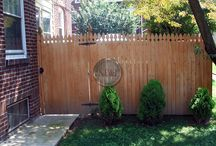 Wood Fence / Commercial and residential wood fencong from around the Philadelphia area and beyond.