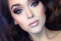 Hair and make-up -účes a make up