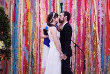 wstążki dekoracje ślubne