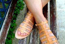 summer Greece / summer sandals