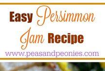persimmons blackberries pawpaws