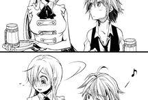 The seven deadly sins - Anime/Manga