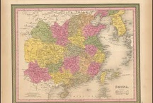 China Antique Maps / Antique maps of China present an interesting view of China over the Centuries. These original old maps of China show the ebb and flow of discovery and colonization. Vintage maps of China often show the development of railroads, harbors and cities. Old historical maps of China, including antique maps of Beijing, Shanghai and Hong Kong can be found here for sale.