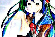 my anime draw