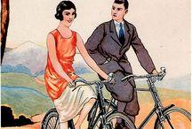 Posters de bicicleta retro