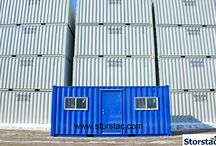 Storage Container Office / Portable offices made out of shipping storage containers