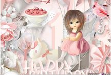 Happy birthday by Pat's Scrap / http://scrapfromfrance.fr/shop/index.php?main_page=index&manufacturers_id=77  http://www.digiscrapbooking.ch/shop/index.php?main_page=index&manufacturers_id=152 https://www.mymemories.com/store/designers/Pat's_Scrap