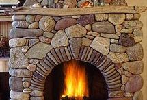Fieldstone  Fireplace  LEW  FRENCH
