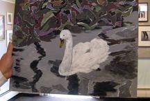 Fall Art Classes / Torn Paper Paintings Workshop