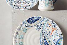 Lovely pottery / Hermosa porcelana y cerámica