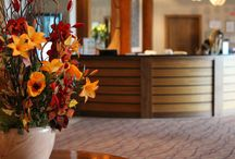 The Gren Isle Hotel Foyer / The entrance to our hotel!