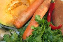 Vegetarian ingredients  / Appetizing pictures of vegetarian dishes components.