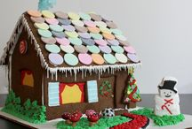 Gingerbread House Spring & Summer / gingerbread house gingerbread cookie house
