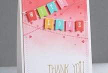 HELLO - THANKS - CARDS