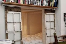 HOME : Look a nook / Gorgeous and useful nooks. Make the most of that space!